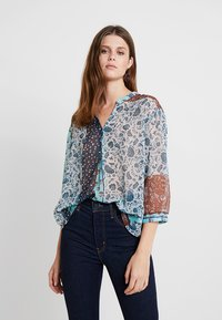 Cream - SAMA - Blouse - dark denim - 0