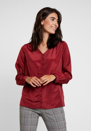 MILLE BLOUSE - Blouse - merlot red