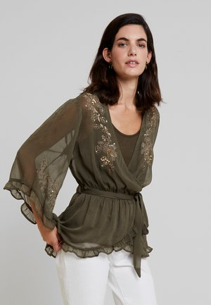 DAISI BLOUSE - Bluser - sea green
