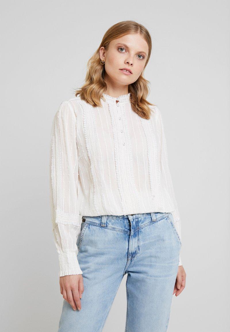 Cream - HAYLIE BLOUSE - Bluse - chalk