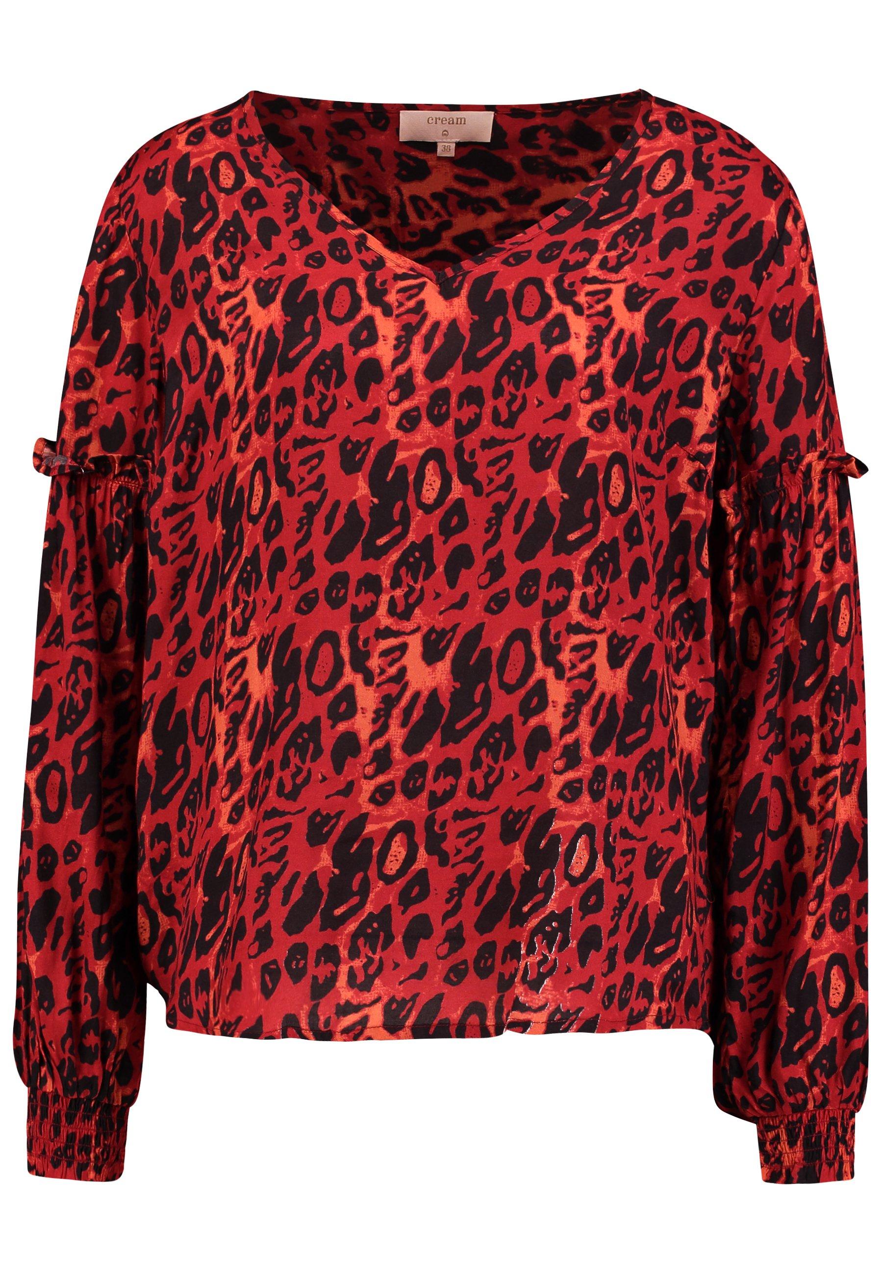 Pitch black Nila Shirt  Cream  Bluser - Dameklær er billig