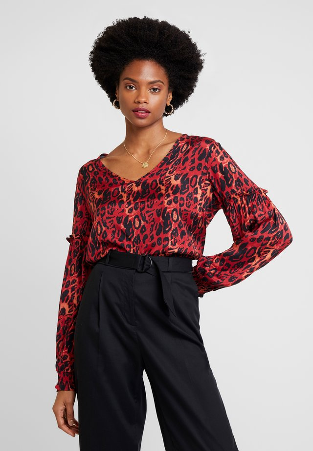 ISLEY BLOUSE - Blouse - merlot red