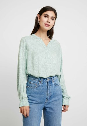KARINACR BLOUSE - Bluser - soft green