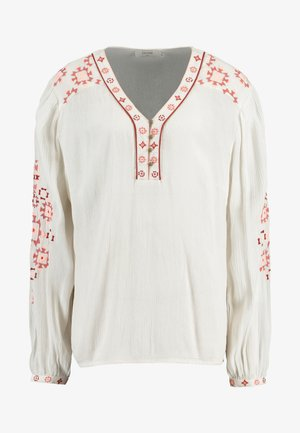 LAVILNA BLOUSE - Bluser - cream white