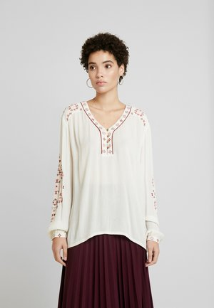 LAVILNA BLOUSE - Blouse - cream white