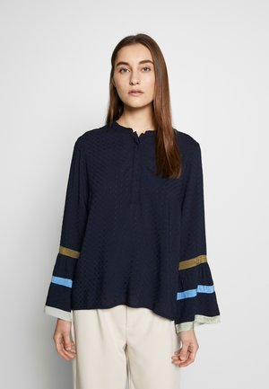 Blouse - royal navy blue