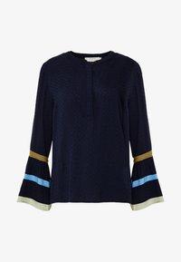 Cream - Blouse - royal navy blue - 5