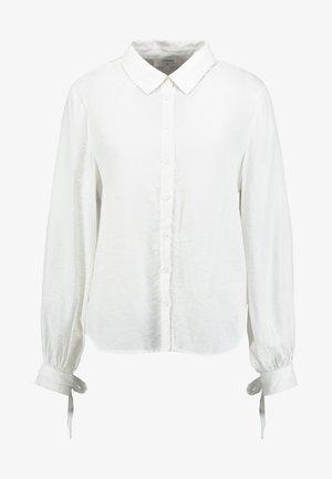 HARRIETTE - Button-down blouse - chalk