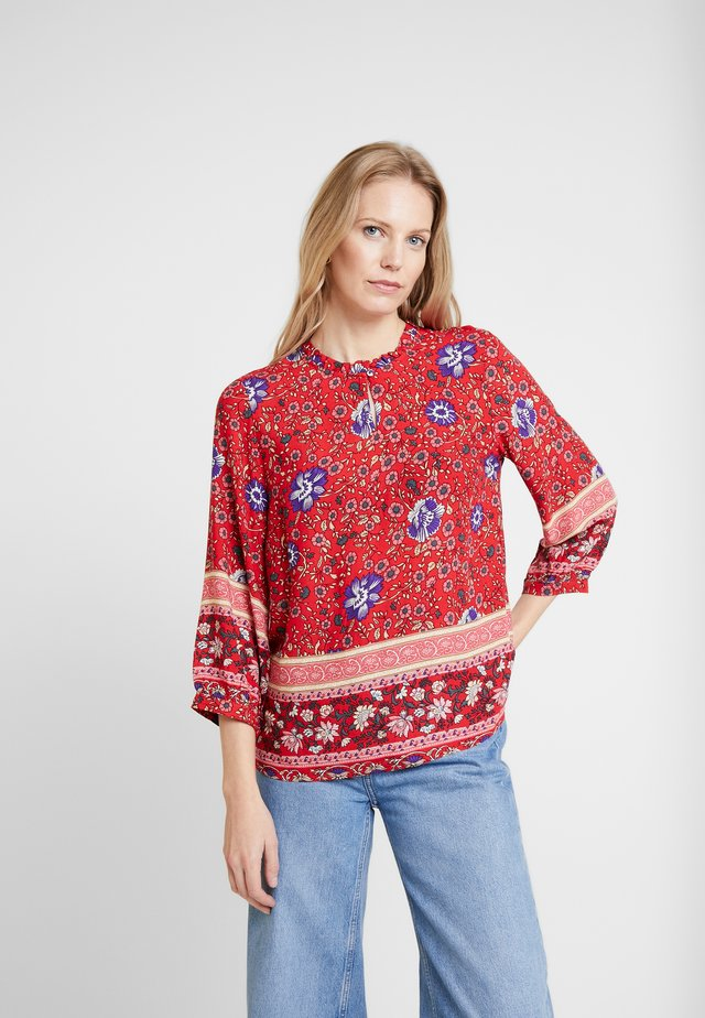 ADAJECR BLOUSE - Bluse - red
