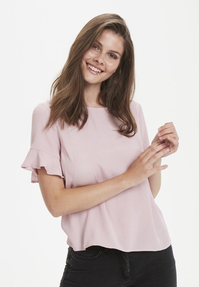 Cream - DINA - Bluse - matcha rose