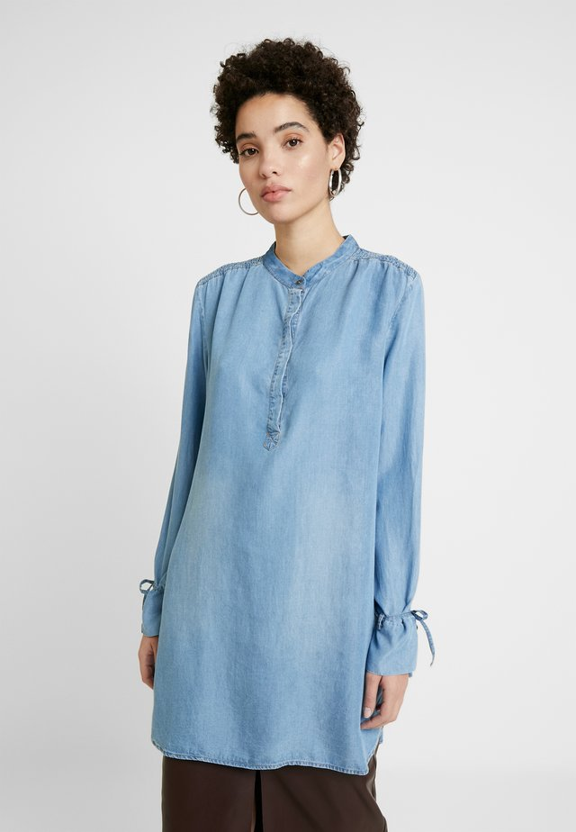 VINCACR LONG - Tuniek - blue denim