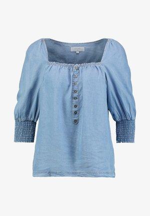 VINCACR - Bluse - blue denim