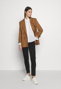 Cream - MANNA - Button-down blouse - chalk - 1