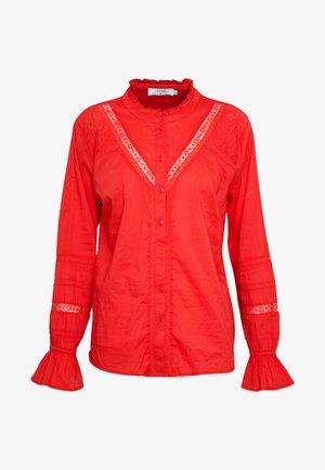 MANNA - Button-down blouse - aurora red