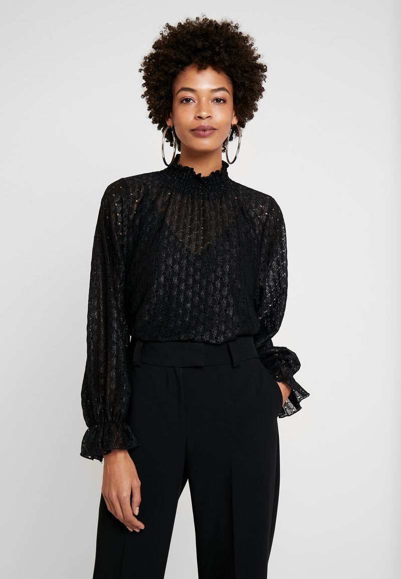 Cream - LACIA BLOUSE - Blouse - black