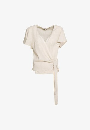ESTHER BLOUSE - Bluser - beige