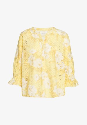 NIVA BLOUSE - Bluzka - jojoba yellow