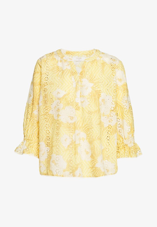 NIVA BLOUSE - Pusero - jojoba yellow