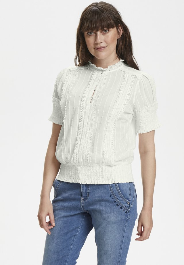 Blouse - chalk