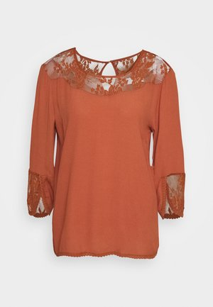KALANIE BLOUSE - Bluser - baked clay