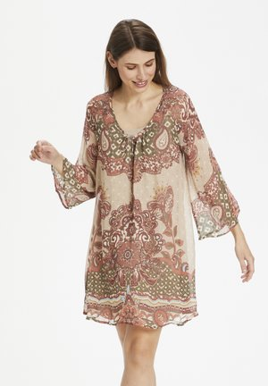 Tunic - biscotti medallion