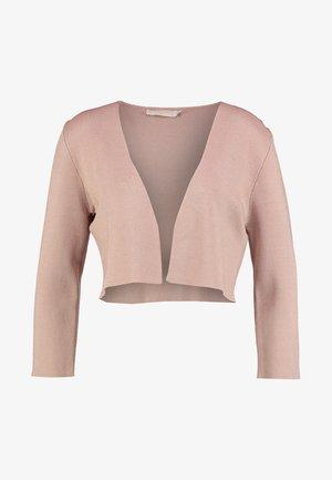 CIARA BOLERO - Cardigan - rose dust