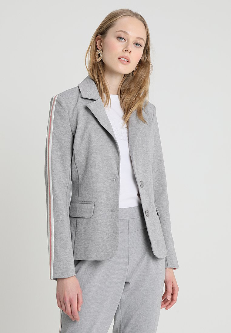 Cream - BEATE - Blazer - light grey melange