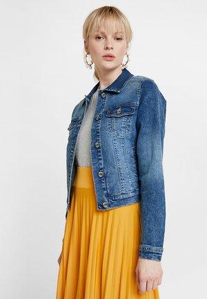 LISA JACKET - Kurtka jeansowa - rich blue denim