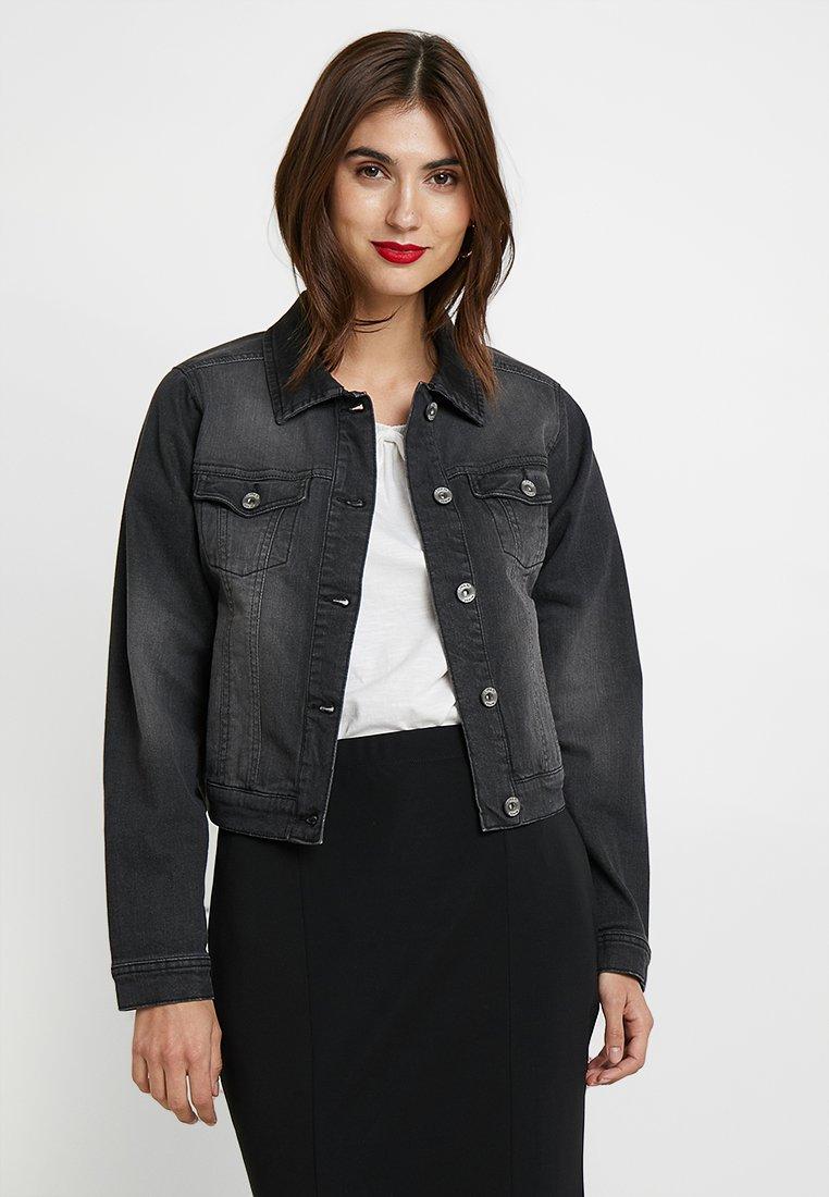 Cream - LISA JACKET - Denim jacket - black denim