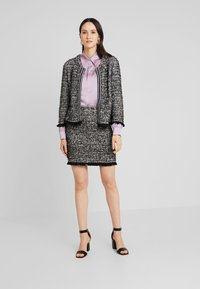 Cream - NANDY TWEED - Blazer - black - 1