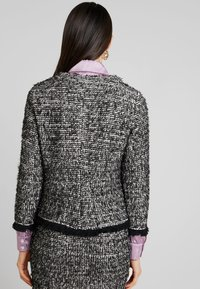 Cream - NANDY TWEED - Blazer - black - 2