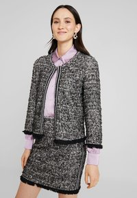 Cream - NANDY TWEED - Blazer - black - 0