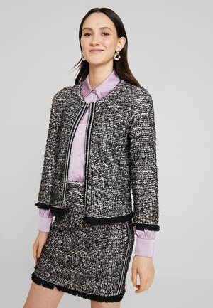 NANDY TWEED - Blazer - black