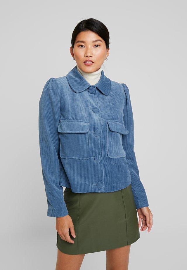 TRIA JACKET - Summer jacket - infinity blue