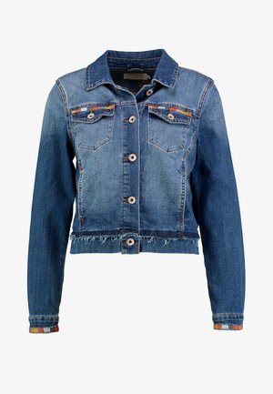 DIWA JACKET - Džínová bunda - blue denim