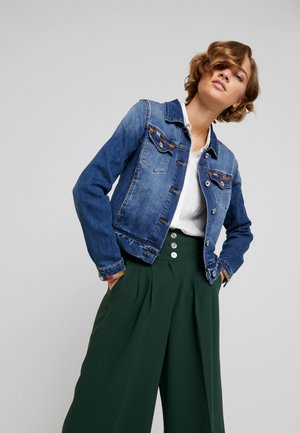 DIWA JACKET - Kurtka jeansowa - blue denim