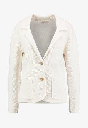 LONGOCR - Blazer - cream white