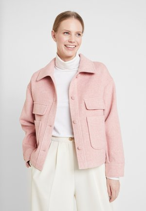 RAVEN JACKET - Korte jassen - old rose