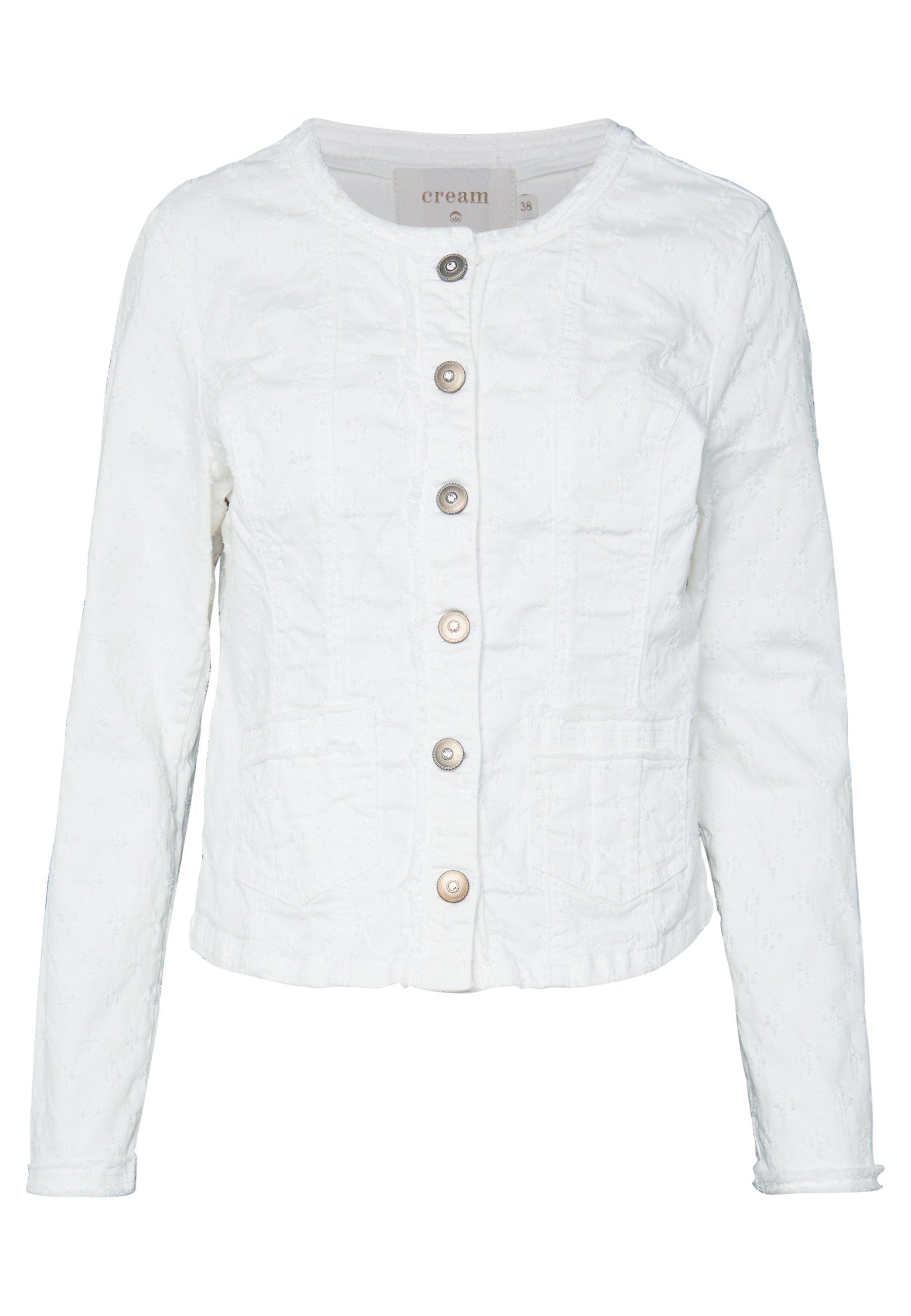 Cream Robina Jacket - Jeansjacka Chalk F9b0I5V