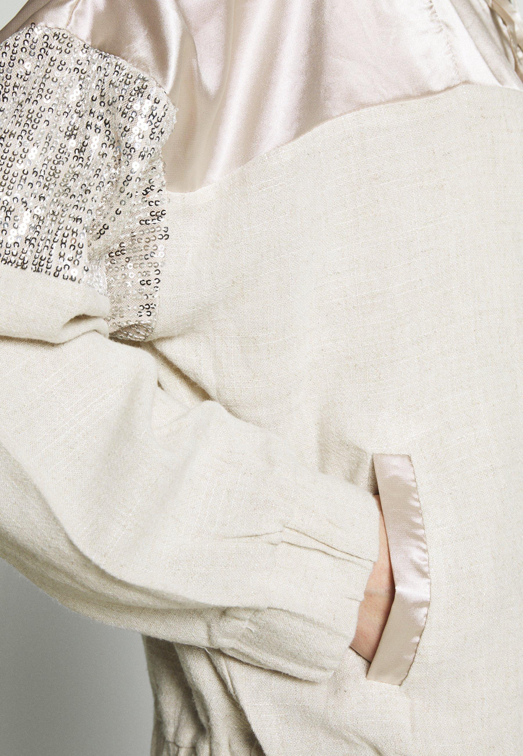 Cream Gloria - Summer Jacket Oat Melange
