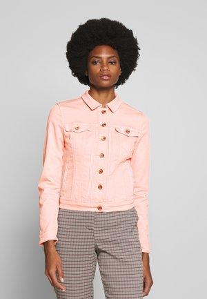 RIKKACR JACKET - Denim jacket - spring pink