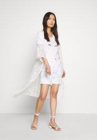 Cream - AMILLA KIMONO - Classic coat - chalk - 1
