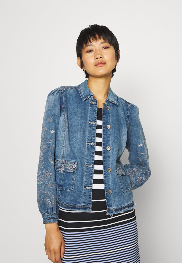 SAVANNA JACKET - Giacca di jeans - denim blue