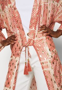 Cream - AVERY KIMONO - Summer jacket - orange ethnic - 5