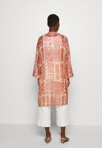 Cream - AVERY KIMONO - Summer jacket - orange ethnic - 2