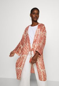 Cream - AVERY KIMONO - Summer jacket - orange ethnic - 3