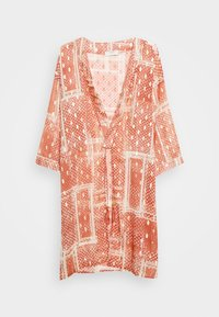 Cream - AVERY KIMONO - Summer jacket - orange ethnic - 4