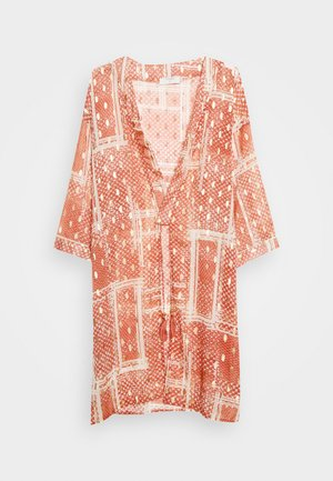 AVERY KIMONO - Summer jacket - orange ethnic