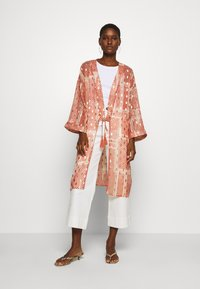 Cream - AVERY KIMONO - Summer jacket - orange ethnic - 1