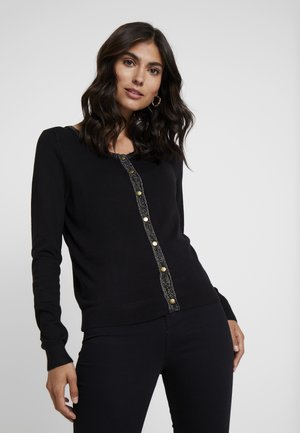 TAMMY CARDIGAN - Strikjakke /Cardigans - pitch black